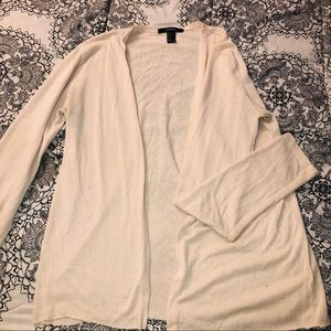 Forever21 Cream Colored Cardigan